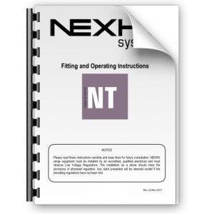 Manual de instalación y funcionamiento Nexho NT