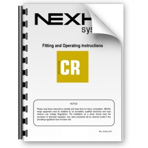 Manual de instalación y funcionamiento Nexho CR
