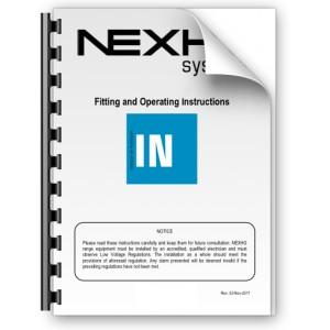 Manual de instalación y funcionamiento Nexho IN