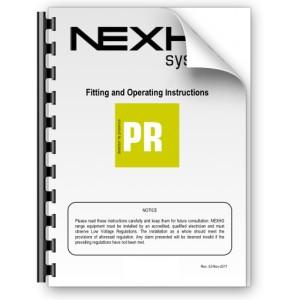 Manual de instalación y funcionamiento Nexho PR