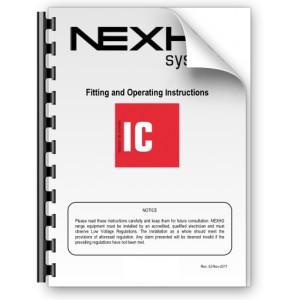 Manual de instalación y funcionamiento Nexho IC