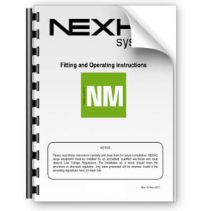 Manual de instalación y funcionamiento Nexho NM