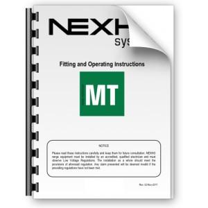 Manual de instalación y funcionamiento Nexho MT